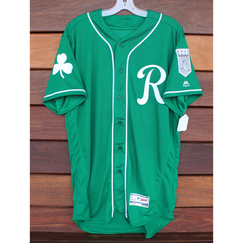 Team-Issued St. Patrick's Day Jersey: Jorge Soler (Size - 44)
