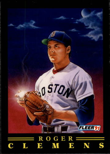 Photo of 1991 Fleer Pro-Visions #9 Roger Clemens