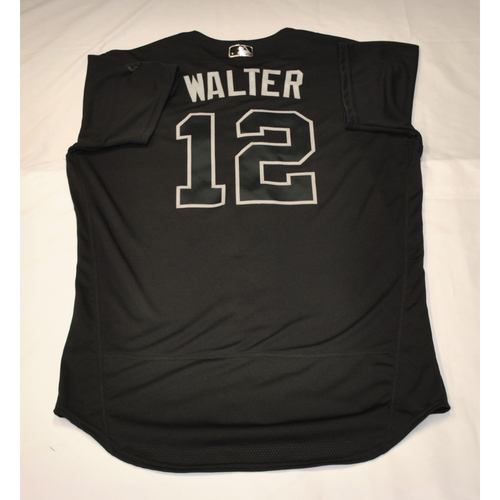 "Photo of Chip ""WALTER"" Hale Washington Nationals Game-Used 2019 Players' Weekend Jersey"
