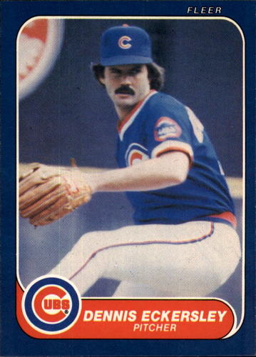 Photo of 1986 Fleer #368 Dennis Eckersley