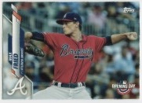 Photo of 2020 Topps Opening Day #42 Max Fried