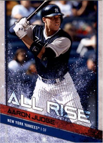 Photo of 2018 Topps Big League Players Weekend Photo Variations #1 Aaron Judge