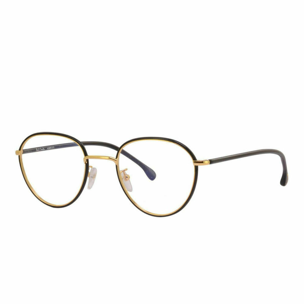 Photo of Paul Smith Albion Black Ink and Gold Optical Frames