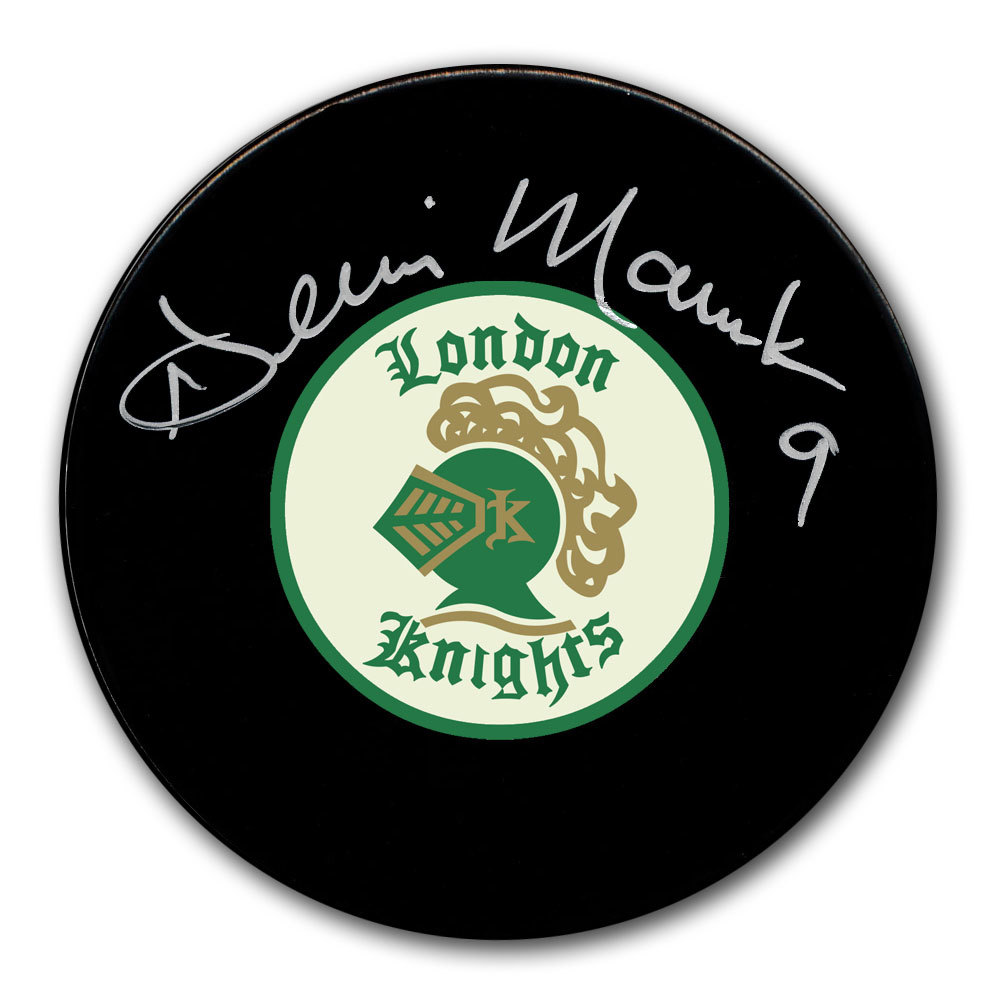Dennis Maruk London Knights Autographed Puck