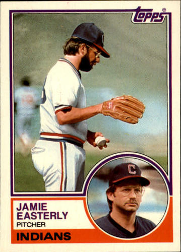 Photo of 1983 Topps Traded #28T Jamie Easterly