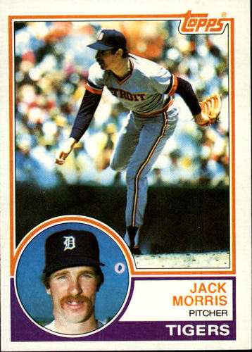 Photo of 1983 Topps #65 Jack Morris