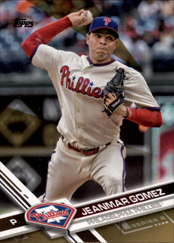 Photo of 2017 Topps Gold #660 Jeanmar Gomez