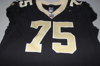 CRUCIAL CATCH - ANDRUS PEAT SAINTS GAME WORN SAINTS JERSEY (OCTOBER 15, 2017)