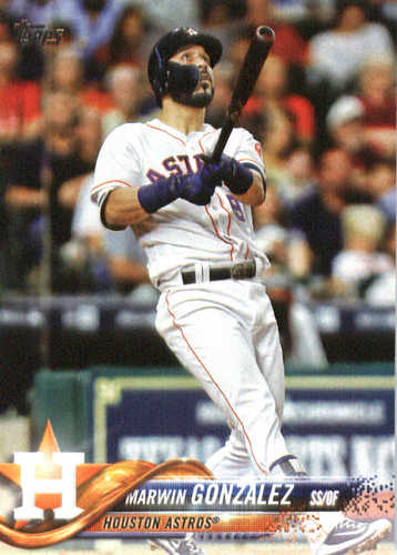 Photo of 2018 Topps #215 Marwin Gonzalez