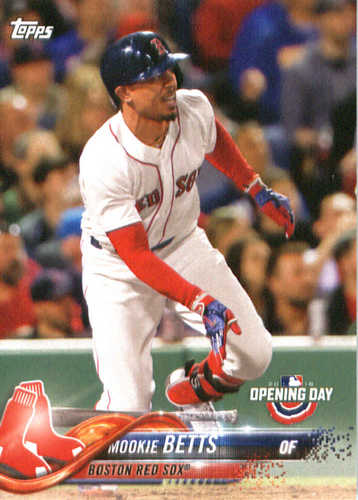 Photo of 2018 Topps Opening Day #22 Mookie Betts