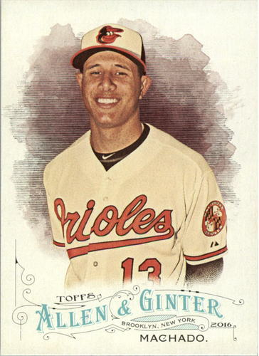 Photo of 2016 Topps Allen and Ginter #277 Manny Machado