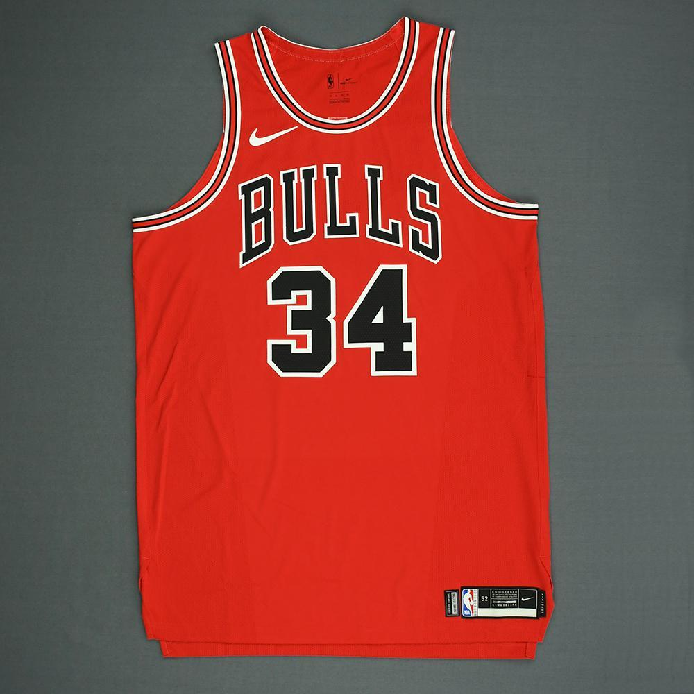 Wendell Carter Jr. - Chicago Bulls - 2018 NBA Draft - Autographed Jersey