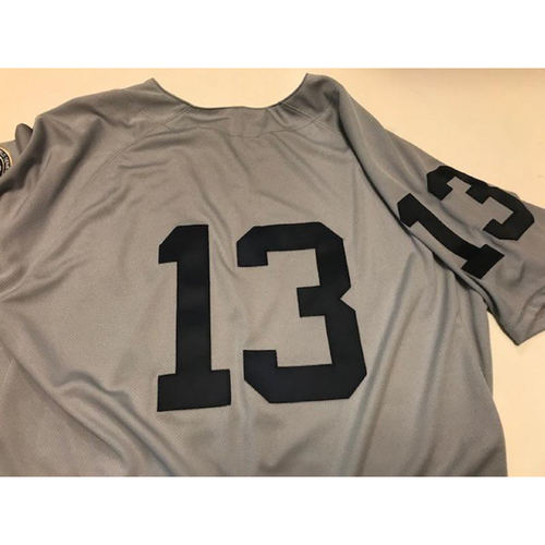 Photo of Team-Issued 1968 World Series 50th Anniversary Jersey: Mike Gerber