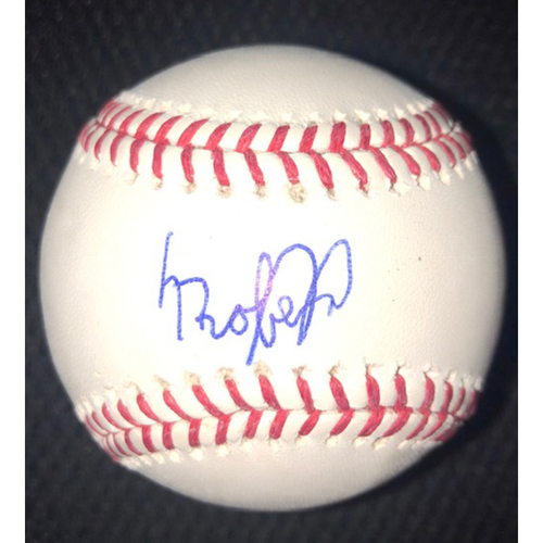 Photo of Luis Robert Autographed Baseball