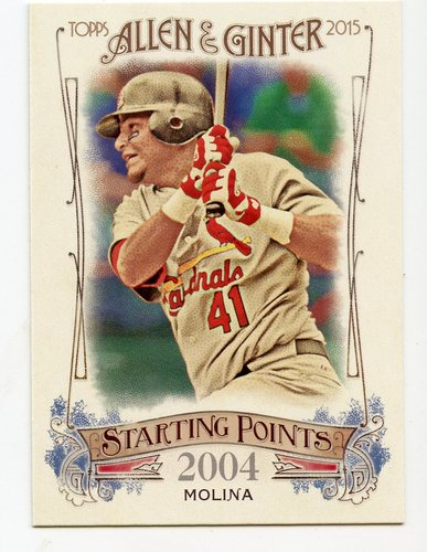 Photo of 2015 Topps Allen and Ginter Starting Points #SP84 Yadier Molina