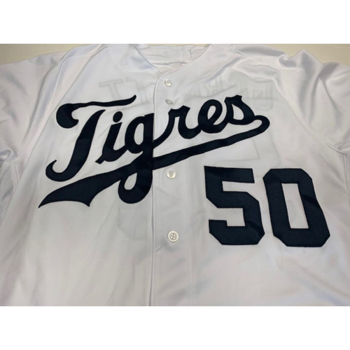 Photo of Team-Issued Fiesta Tigres Jersey: Amir Garrett