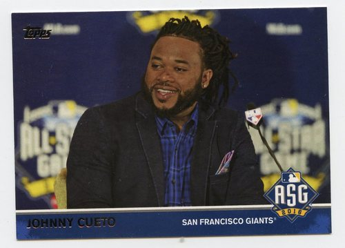Photo of 2016 Topps Update All-Star Game Access #MLB19 Johnny Cueto