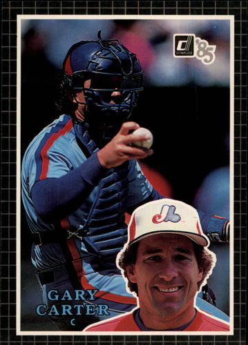 Photo of 1985 Donruss Action All-Stars #57 Gary Carter