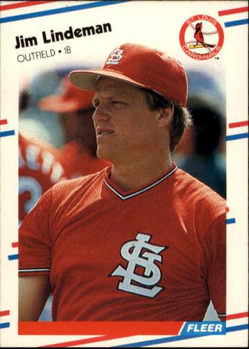 Photo of 1988 Fleer #39 Jim Lindeman