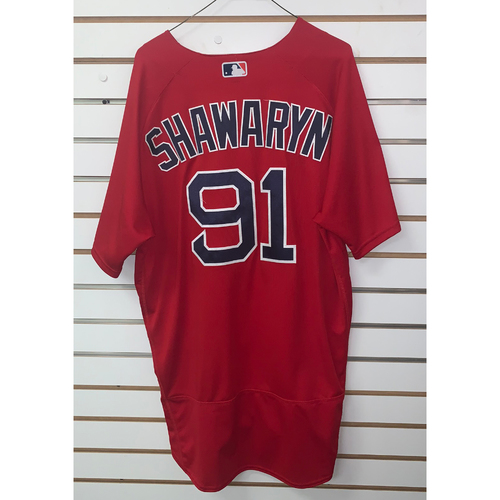 Photo of Mike Shawaryn Team Issued 2019 Spring Training Jersey