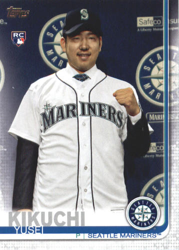 Photo of 2019 Topps #632 Yusei Kikuchi RC