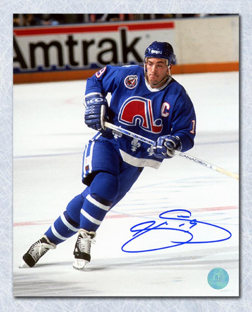 Joe Sakic Quebec Nordiques Autographed 8x10 Photo - NHL ...