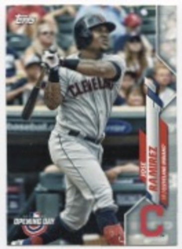Photo of 2020 Topps Opening Day #47 Jose Ramirez