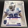 NFL - Cowboys Darren Woodson Signed Cowboy Star Game Day Magazine