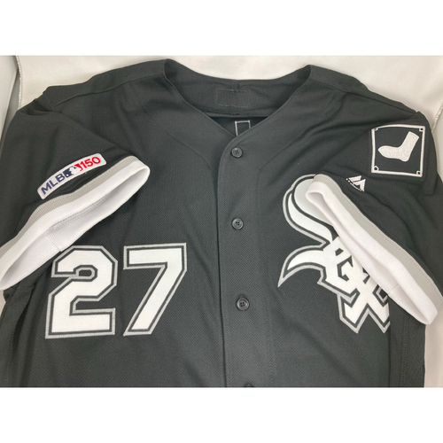 Photo of Lucas Giolito Autographed Black Alternate Jersey