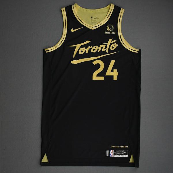 Image of Norman Powell - Toronto Raptors - Game-Worn City Edition Jersey - 2020-21 NBA Season