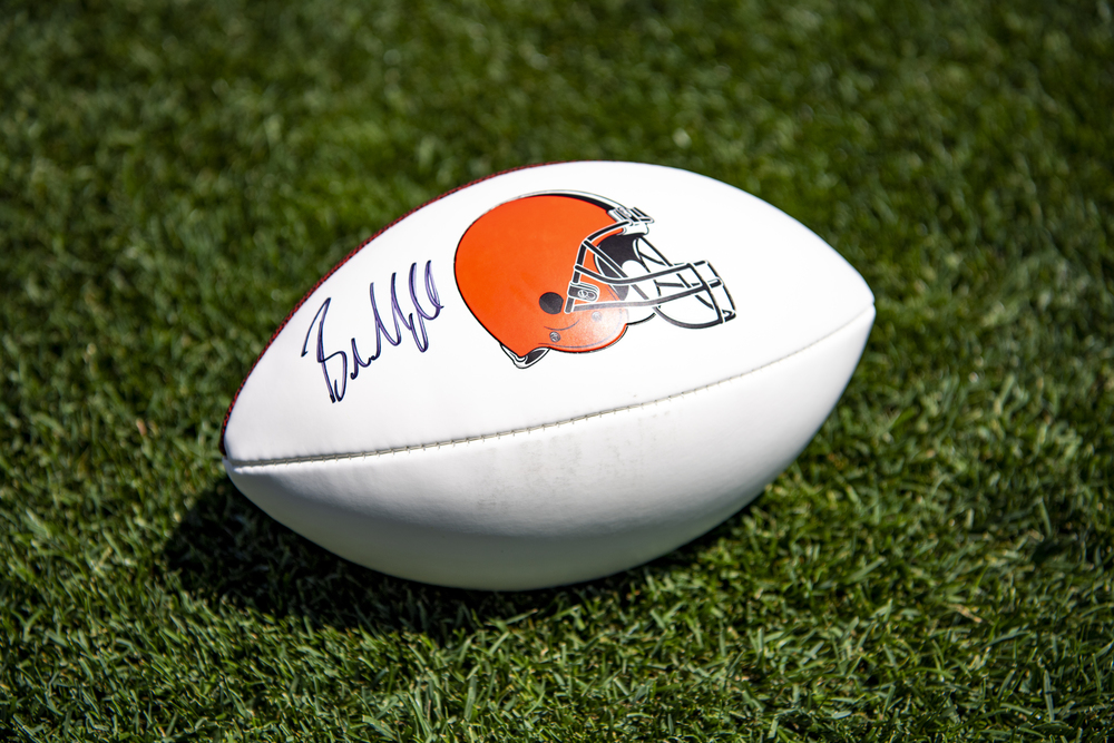 Browns - Baker Mayfield Autographed Football