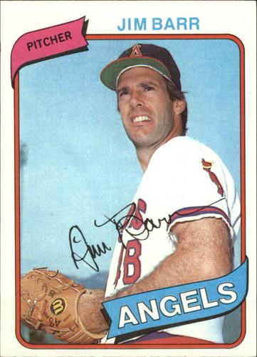 Photo of 1980 Topps #529 Jim Barr