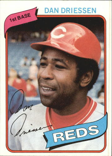 Photo of 1980 Topps #325 Dan Driessen