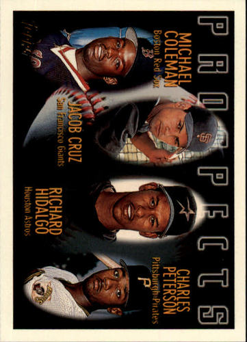 Photo of 1996 Topps #438 M.Coleman RC/R.Hidalgo