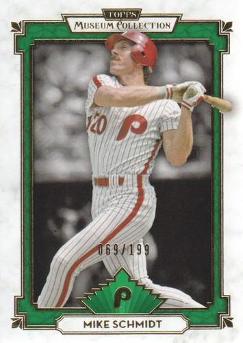 Photo of 2014 Topps Museum Collection Green #62 Mike Schmidt