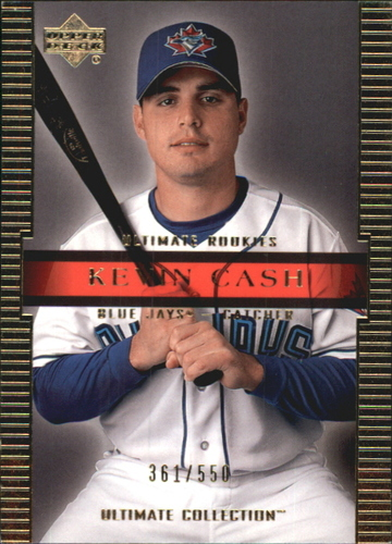Photo of 2002 Ultimate Collection #110 Kevin Cash UR RC