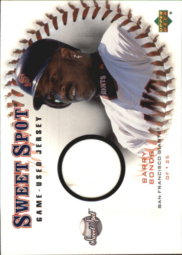 Photo of 2001 Sweet Spot Game Jersey #JBB Barry Bonds