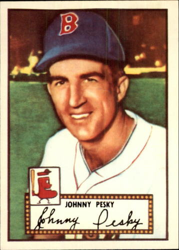 Photo of 1983 Topps 1952 Reprint #15 Johnny Pesky