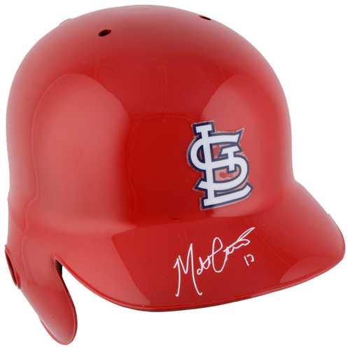 Photo of Matt Carpenter St. Louis Cardinals Autographed Red Batting Helmet