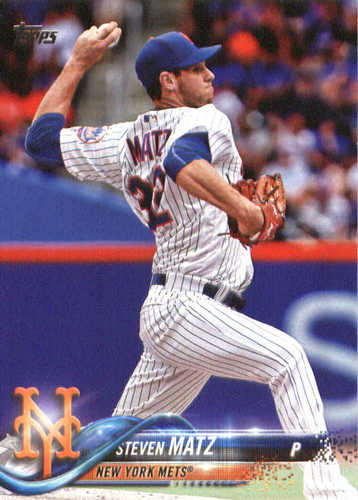 Photo of 2018 Topps #221 Steven Matz
