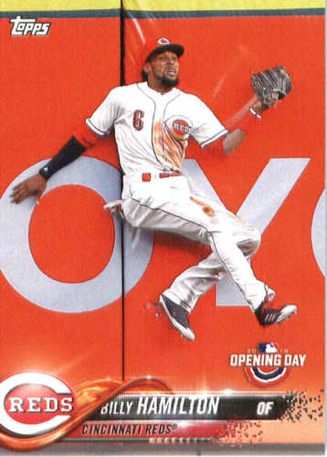 Photo of 2018 Topps Opening Day #34 Billy Hamilton