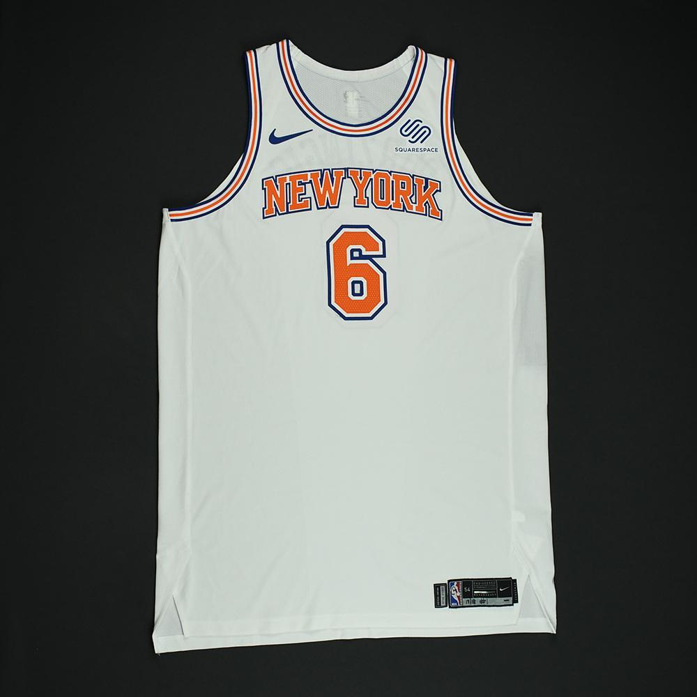 b80395cb36c Kristaps Porzingis - New York Knicks - Game-Worn  Statement  Jersey - 2017