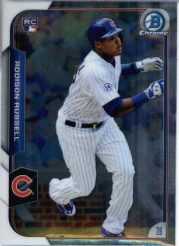 Photo of 2015 Bowman Chrome #161 Addison Russell RC