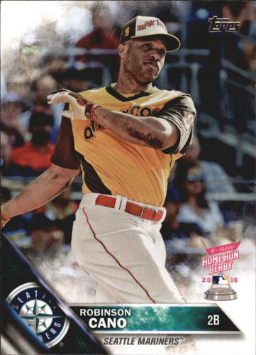 Photo of 2016 Topps Update #US280 Robinson Cano HRD