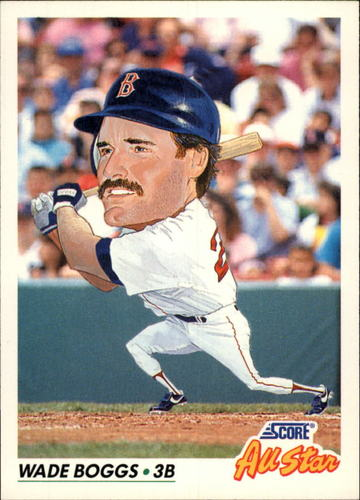 Photo of 1992 Score #434 Wade Boggs AS