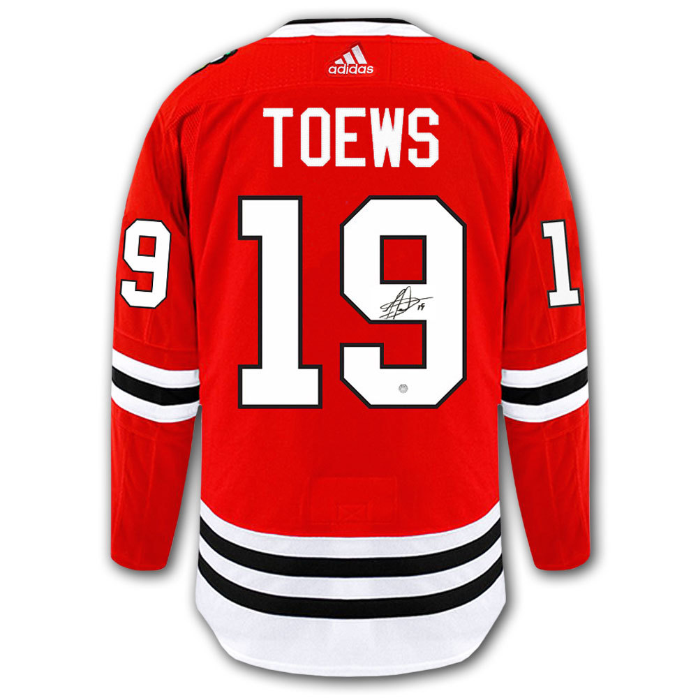 89c15d2d0f0 Jonathan Toews Chicago Blackhawks Adidas Pro Autographed Jersey ...