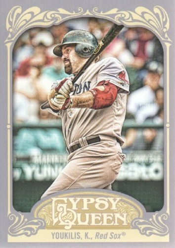 Photo of 2012 Topps Gypsy Queen #22A Kevin Youkilis