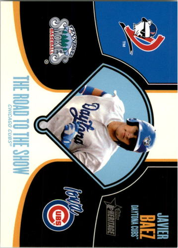 Photo of 2013 Topps Heritage Minors Road to the Show #JBA Javier Baez