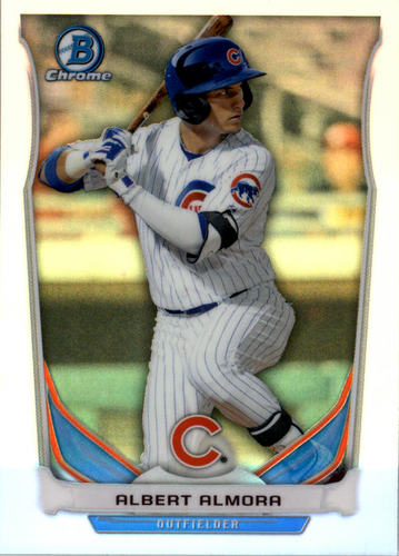 Photo of 2014 Bowman Chrome Draft Top Prospects Refractors #CTP35 Albert Almora