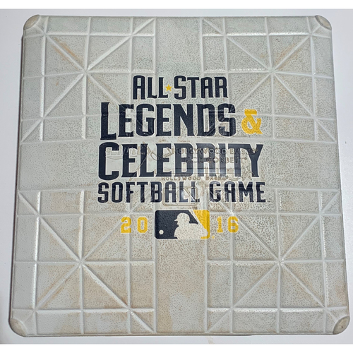 Photo of 2016 All-Star Legends & Celebrity Softball Game Used 3rd Base - July 10th